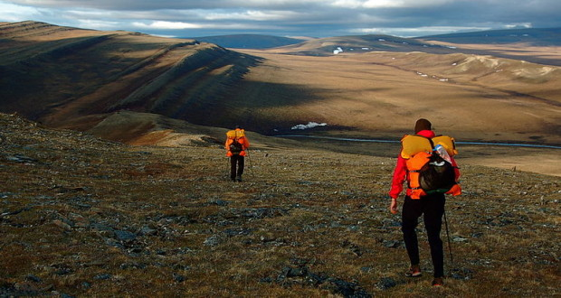 NPRA_southwest_synclines_ridges_and_hikers