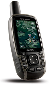Garmin GPSMAP 62St Handheld Hiking GPS Navigator device - backcountry directions