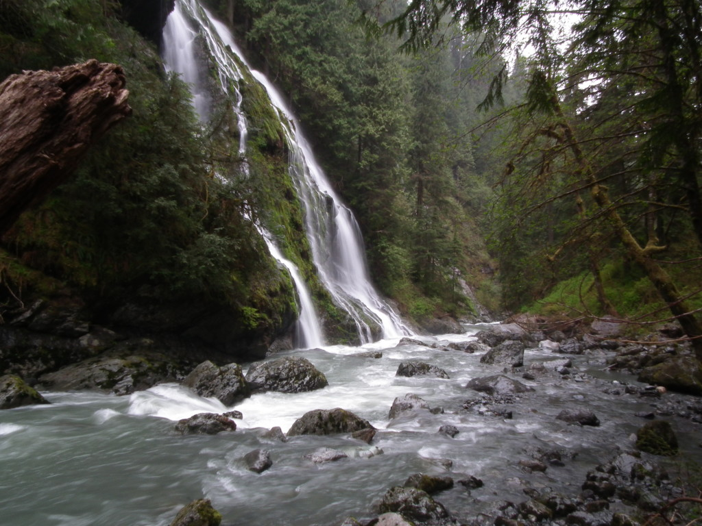 Boulder River Waterfall Arlington Washington