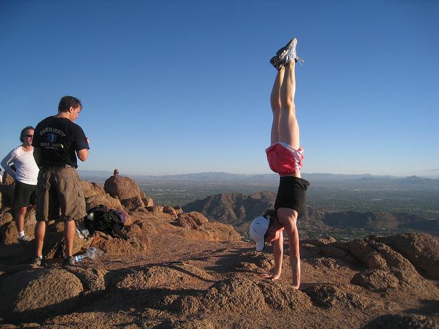 Camelback Mountain Handstand