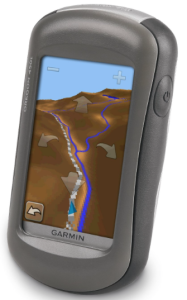 Garmin Oregon 450t Handheld Hiking GPS Navigator device - car route directions  backcountry hikes information
