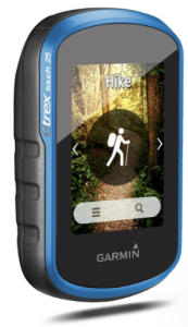 Garmin etrex Touch 25 Hiking GPS device - backcountry mountain hikes