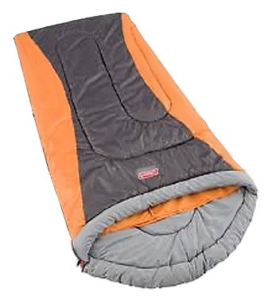 Coleman 2000008222 Traverse MAX Contoured 4-in-1 Sleeping Bag 20 F to 40 F