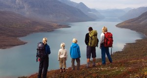 Norway Jotunheimen hiking with kids