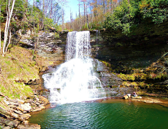 Cascade Falls - Giles County - Virginia