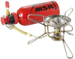 MSR WhisperLite Stove White Gas hiking stove
