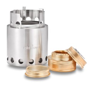 Solo Stove with Backup Alcohol Burner - Lightweight